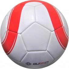 Busso FT5411A Makine Dikişli Futbol Topu (Beyaz/ Kırmızı) No:5