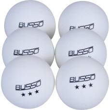 Busso Bs BS23021 Pinpon Topu 6'Lı (Beyaz)