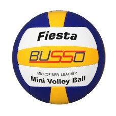 Busso Fiesta Mini Voleybol Topu Mavi Sarı Beyaz