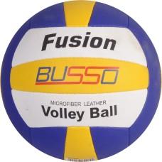 Busso  Fusıon Voleybol Topu -Beyaz/Mavi/Sarı